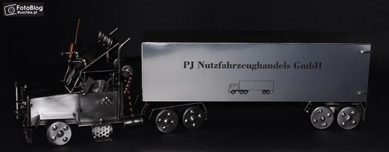 Metalowy model Truck
